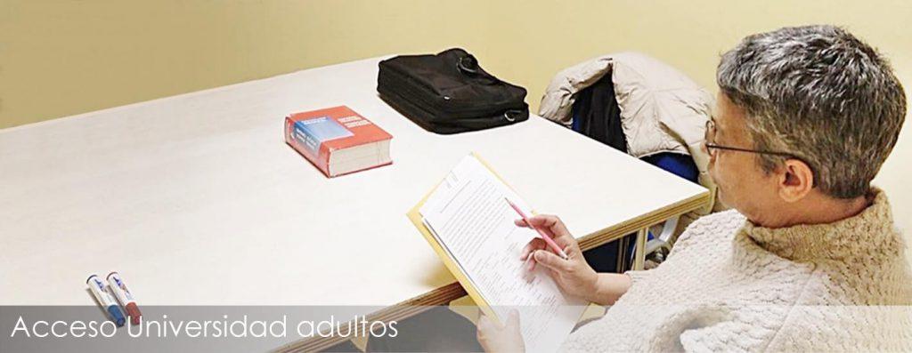 Ingresa en la Universidad siendo adulto con nuestras clases