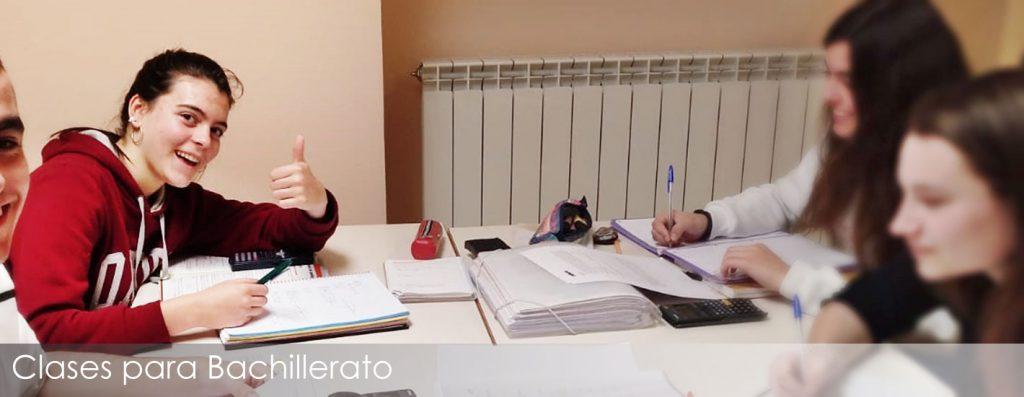 Clases de apoyo al estudio en euskera y castellano para alumnos de Bachillerato