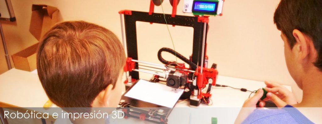 Robótica e impresión 3D para fomentar el talento tecnológico de losniños
