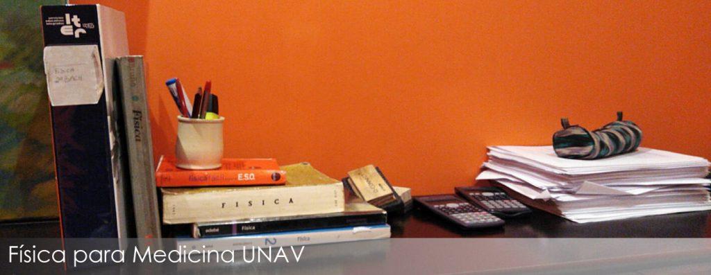Librso de Física para el examen de ingreso en Medicina de la UNAV